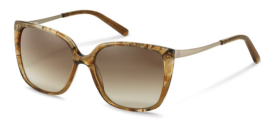 Bogner-Sunglasses-BG023-brown structured, gold
