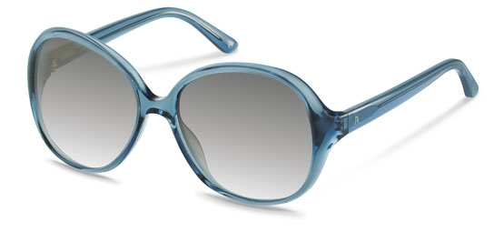 Claudia Schiffer by Rodenstock-Solbrille-C3006-transparent grey blue