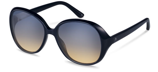 Claudia Schiffer by Rodenstock-Solbrille-C3006-navy blue