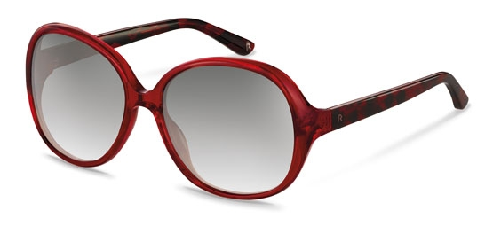 Claudia Schiffer by Rodenstock-Solbrille-C3006-red