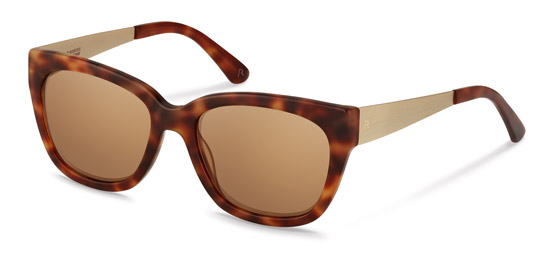 Claudia Schiffer by Rodenstock-Solglasögon-C3009-lite havana/light gold