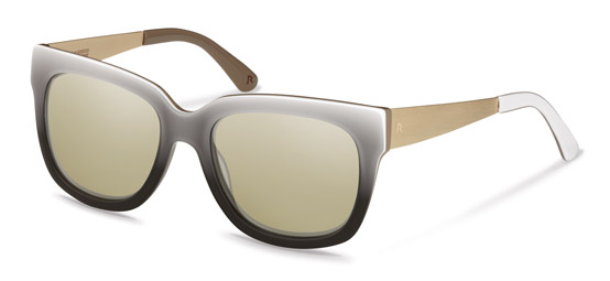 Claudia Schiffer by Rodenstock-Solglasögon-C3010-black/light gold