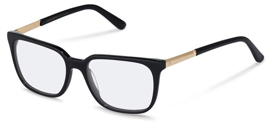 Claudia Schiffer by Rodenstock-Correction frame-C4015-black, gold