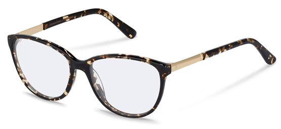 Claudia Schiffer by Rodenstock-Correction frame-C4016-havana, gold