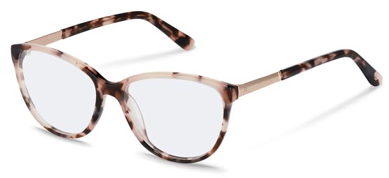 Claudia Schiffer by Rodenstock-Correction frame-C4016-rose havana, rose gold