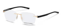 Porsche Design-Brillestel-P8344-gold