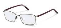 Rodenstock-Brillestel-R2610-gunmetal/darkred