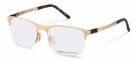 Porsche Design-Brillestel-P8322-gold