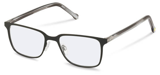 rocco by Rodenstock-Brillestel-RR210-black, grey structured