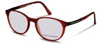 Porsche Design-Brillestel-P8261-red