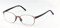 Porsche Design-Brillestel-P8312-burgundy