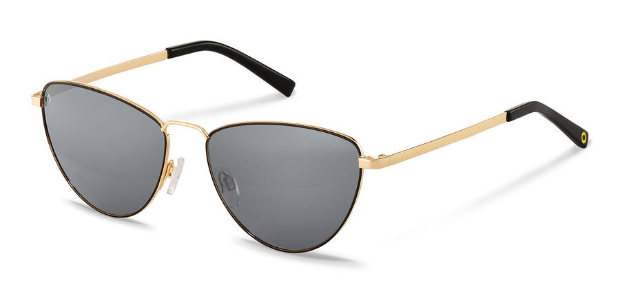 Rodenstock Capsule Collection-Solbrille-RR106-black/gold