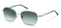 Rodenstock-Solbrille-R1418-silver, light green