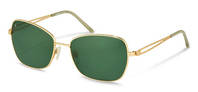 Rodenstock-Solbrille-R1419-gold, light green