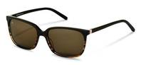 Rodenstock-Solbrille-R3289-brown structured