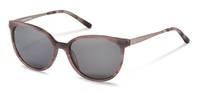 Rodenstock-Solbrille-R3297-rose grey structured, gunmetal