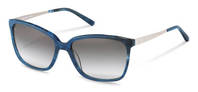 Rodenstock-Solbrille-R3298-blue structured, palladium