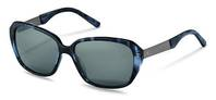 Rodenstock-Solbrille-R3299-dark blue structured, dark gun