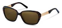 Rodenstock-Solbrille-R3299-brownstructured/gold