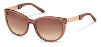 Rodenstock-Solbrille-R3300-brown, rose gold