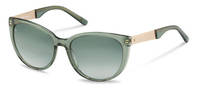 Rodenstock-Solbrille-R3300-green, light gold
