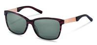 Rodenstock-Solbrille-R3302-purple structured, rose gold