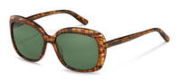Rodenstock-Solbrille-R3308-brownstructured