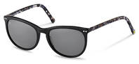 rocco by Rodenstock-Solbrille-RR331-black, blue structured