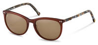 rocco by Rodenstock-Solbrille-RR331-dark brown, brown structured