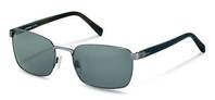 Rodenstock-Solbrille-R1417-light blue, dark blue structured