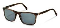 Rodenstock-Solbrille-R3288-brown structured
