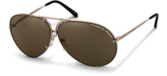 Porsche Design-Solbrille-P8478-light gold