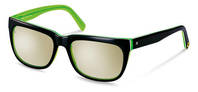 rocco by Rodenstock-Solbrille-RR309-black/greenlayered