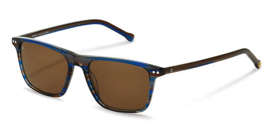 rocco by Rodenstock-Solbrille-RR326-blue-brownstructured