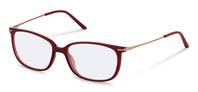 Rodenstock-Correction frame-R5310-dark red, rose gold