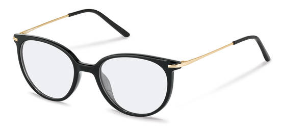 Rodenstock-Correction frame-R5312-black, light gold