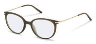 Rodenstock-Correction frame-R5312-olive, light gold