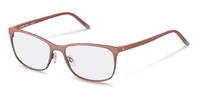 Rodenstock-Correction frame-R7033-rose gold, dark red