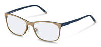 Rodenstock-Correction frame-R7033-gold, dark blue