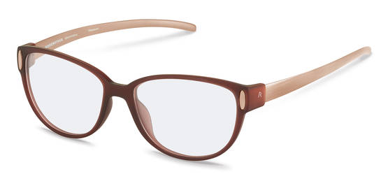 Rodenstock-Correction frame-R8016-dark red transparent