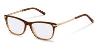 rocco by Rodenstock-Correction frame-RR432-brown structured