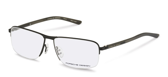 Porsche Design-Correction frame-P8317-black, light brown transp.