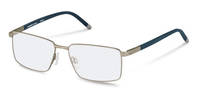 Rodenstock-Correction frame-R7047-silver, dark blue