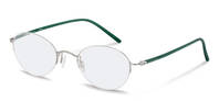 Rodenstock-Correction frame-R7052-silver, dark green