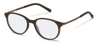 rocco by Rodenstock-Correction frame-RR439-dark brown used look, brown