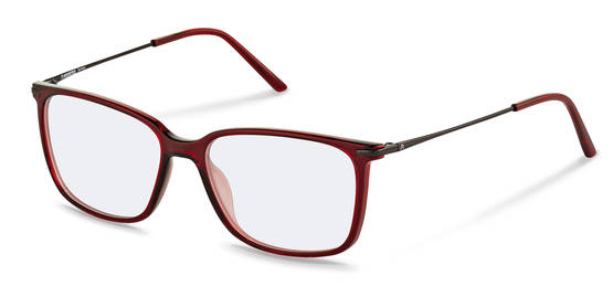 Rodenstock-Correction frame-R5308-dark red, dark gunmetal