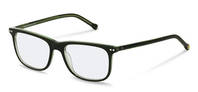 rocco by Rodenstock-Correction frame-RR433-dark green layered