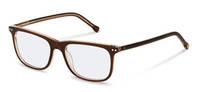 rocco by Rodenstock-Correction frame-RR433-brown transparent layered