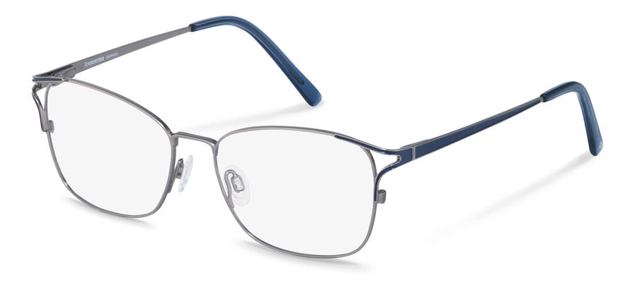 Rodenstock-Correction frame-R2634-lightgun/darkblue