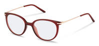 Rodenstock-Correction frame-R5312-dark red, rose gold
